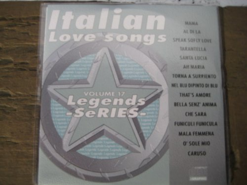 Standards Karaoke Cd - LEGENDS Karaoke CDG #17 ITALIAN FAVORITES Standards
