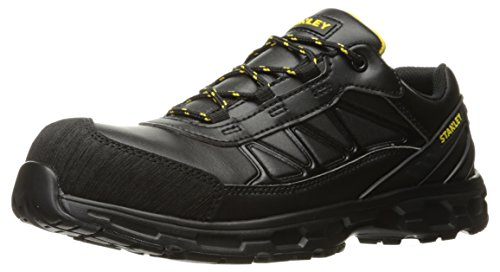 Laser Black Stanley Toe Men's Construction Industrial and COMP Shoe 5wf8w