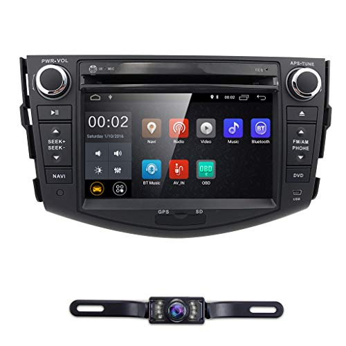 - Android 8.1 Touch Screen Car Stereo Toyota RAV4 2006 2007 2008 2009 2010 2011 2012-7