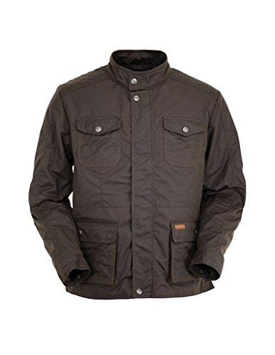 - Outback Trading Men's Denali Moto Jacket (Medium, Bronze)
