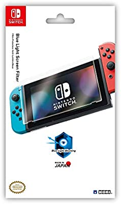 HORI - Protector de pantalla antiluz azul (Nintendo Switch): Amazon.es: Videojuegos