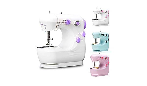 Mini máquina de coser, principiantes Máquina de coser eléctrica de ...