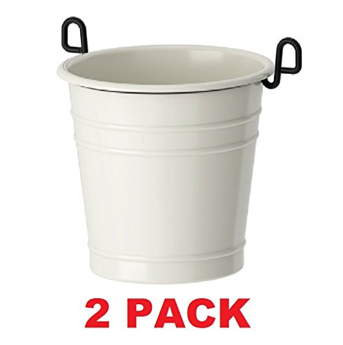IKEA Caddy Utensil Steel Enamel (2, White)