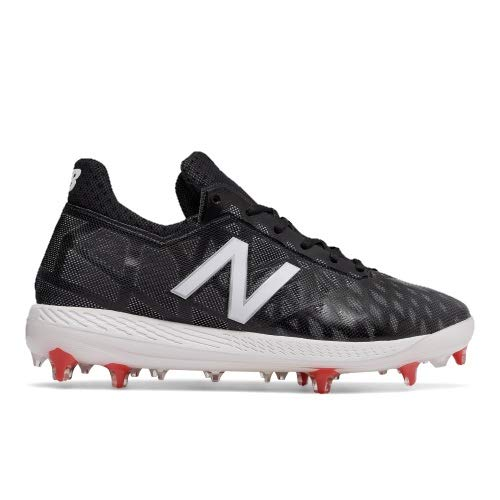 New Balance Men's COMPBK1, Black-White-red, 10.5 D US by New Balance