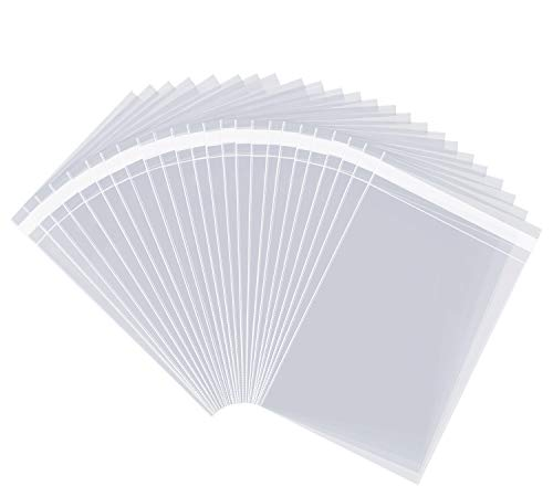 "1000 Count - 9"" X 12"" Self Seal Clear Cello Cellophane for sale  Delivered anywhere in USA"