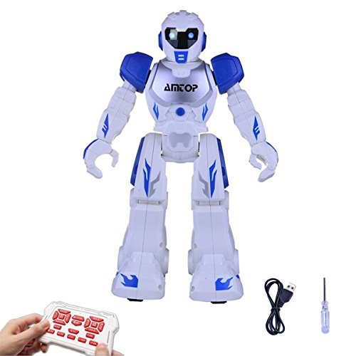 Cheap Amtop Remote Control Robots Interactive Walking Singing Dancing Smart Programmable RC Robotic Toys for Kids Boys Girls for cheap