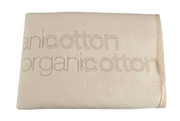 Amazon.com : LA Organic Cotton colchón impermeable para Compact Cuna Colchones, Tan : Baby
