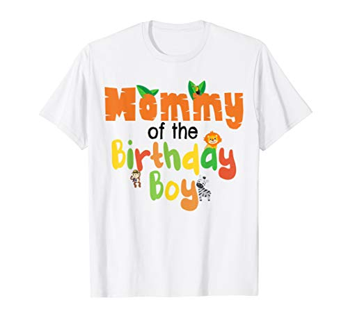 Zoo Jungle Birthday Shirt Family Costume Party Theme