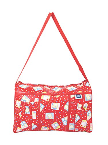 Mee Mee Multifunctional Diaper Bag with Pockets  Red