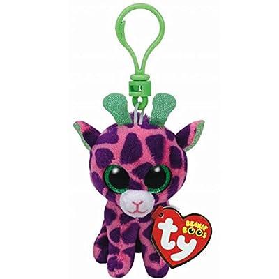 Holland Plastics Original Brand TY Beanie Boos Gilbert Giraffe, Keyclip!: Toys & Games