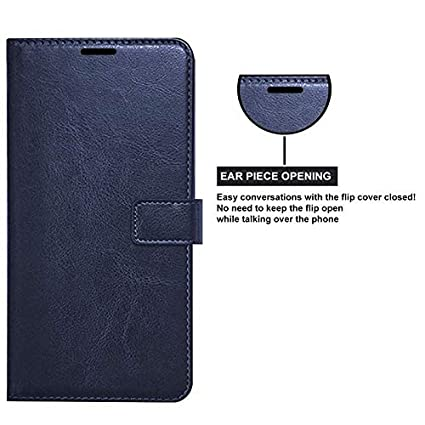 Trounce trade; Pu Leather Flip Cover with Stand/Wallet/Card Holder  Blue  for Sony Xperia XA1 Plus Cases   Covers