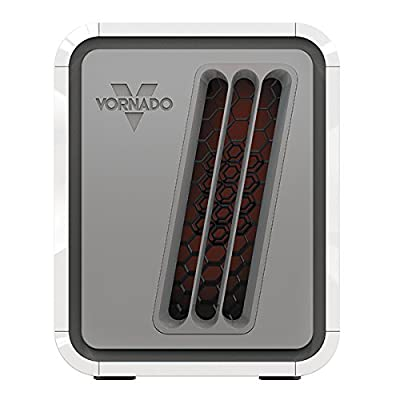 Vornado DUAL-ZONE Infrared Electric Portable Heater with Built-In Safety Features Included
