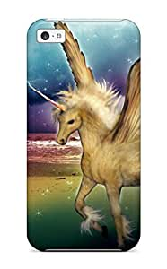 Hard Plastic iphone 5s Case Back Cover,hot Unicorn Horse Magical Animal Y Case At Perfect Diy