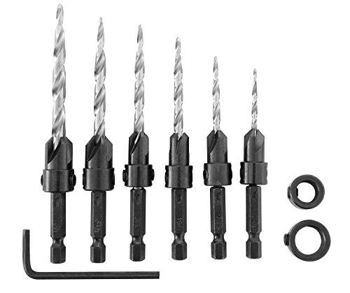 Irwin Tools 1882792  SPEEDBOR Countersink Wood Drill Bit, 8-