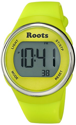 Roots Women's 1R-AT405YE1Y Cayley Digital Yellow Sport Watch (Roots Canada Watch)