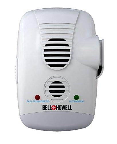 Bell + Howell Ultrasonic Electromagnetic Pest Repeller Wi...