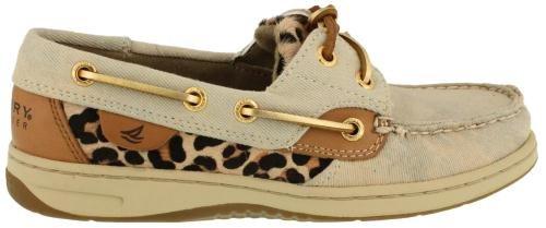 Sperry Top-Sider Womens Bluefish Denim Leopard Boat Shoe Denim Leopard hpGOFIS