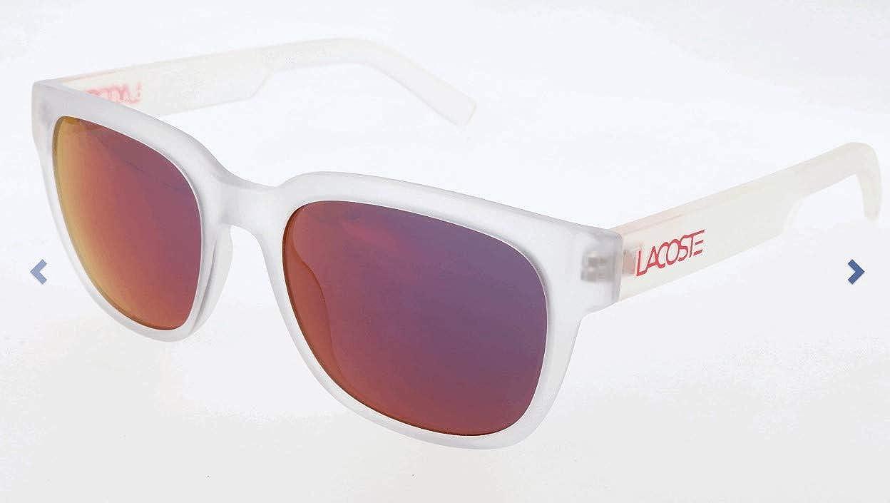 Lacoste Sonnenbrille L830S Gafas de sol, Blanco (Weiß), 53.0 ...