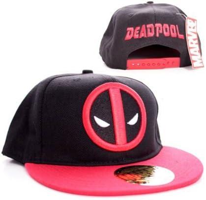 Marvel Comics Deadpool hombres del casquillo del snapback ...