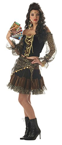 French Madame Sexy Costumes (California Costume Sexy Madame Destiny Gypsy Adult Costume Size Large 10-12)