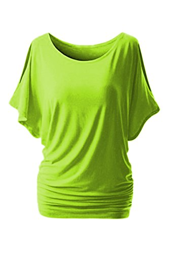 yming-womens-cut-out-off-shoulder-short-sleeve-dolman-drape-top-plus-size