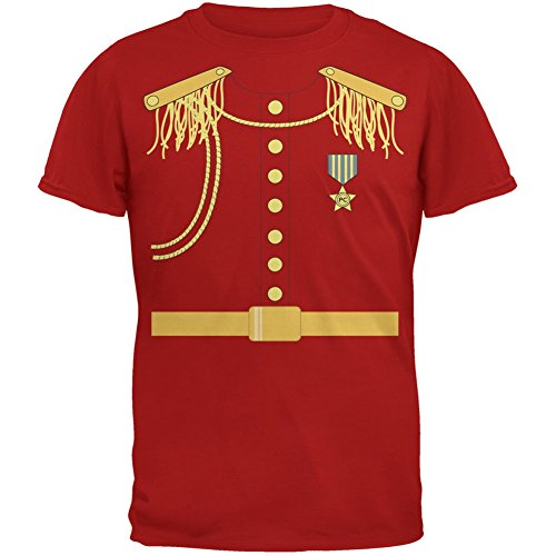 Old Glory Halloween Prince Charming Costume Red Adult T-Shirt - -