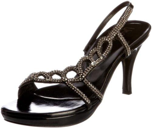 Negro L18450W Evening Unze Sandalias mujer Sandals para Y7EEa
