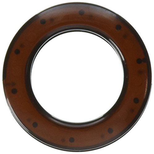 Dritz 44376 Curtain Grommets, Bronze, 1-Inch, 8-Pack - Snap On Grommets