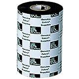 "Zebra 03200BK11045 Thermal Transfer Wax/Resin Ribbon (4.33"" x 1476') 3200 High Performance, 6 Rolls"