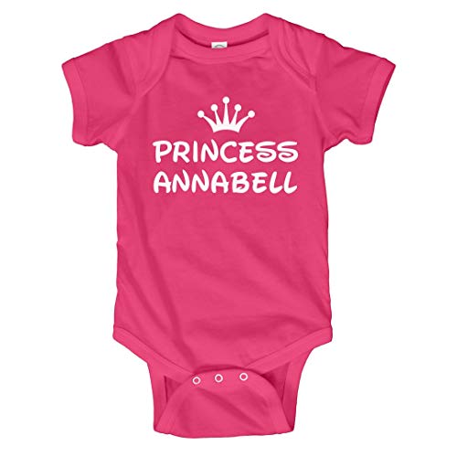 FUNNYSHIRTS.ORG Baby Girl Princess Annabell: Infant for sale  Delivered anywhere in USA