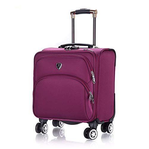 Rolling Briefcase Hard Side Catalog Case 18 Inch Laptop Suitcases ()