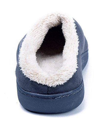 Chaussons Mixte Femme Gris Pantoufles Coton Shoes Ageemi Flat wCEXqXZP