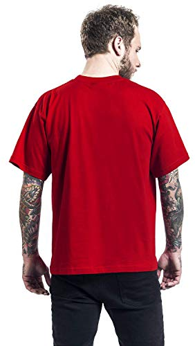 Classic shirt Logo T Iron Maiden Rosso 4OpwBB