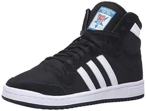 adidas Originals Men's Top Ten Hi Basketball Shoe - Black...