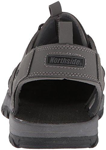Northside Mens Burke Ii Sport Sandale Gris Foncé