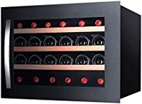 JJSFJH Vino de Refrigeración/Chiller  Mostrador Rojo y Blanco Bodega