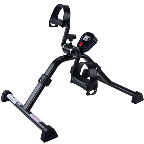 (Medical Folding Pedal Exerciser with Electronic Display)