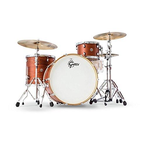 - Gretsch Drums Catalina Club Rock 3-Piece Shell Pack Satin Walnut Glaze