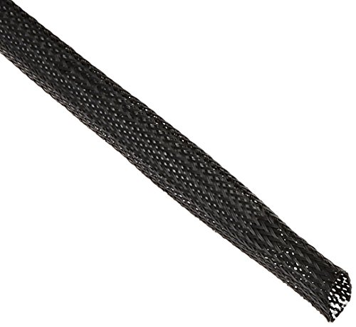 Keep It Clean 14196 Wire Loom 3//8 Black Ultra Wrap Wire Loom 10 Feet