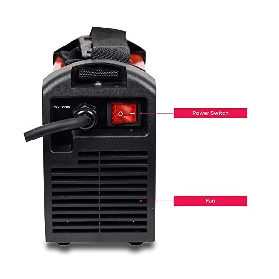 iBELL 200-89 Inverter ARC Compact Welding Machine (IGBT) 200A with Hot Start and Anti-Stick Functions - 1 Year Warranty 6