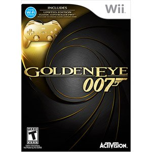 James Bond 007: Golden Eye & Gold Controller w/ Bonus Exclusive