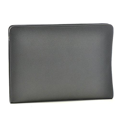 Valextra(ヴァレクストラ) バッグ メンズ グレインレザー クラッチバッグ グレー V4D65-028-00FLRD[並行輸入品] B00TY28ZB6