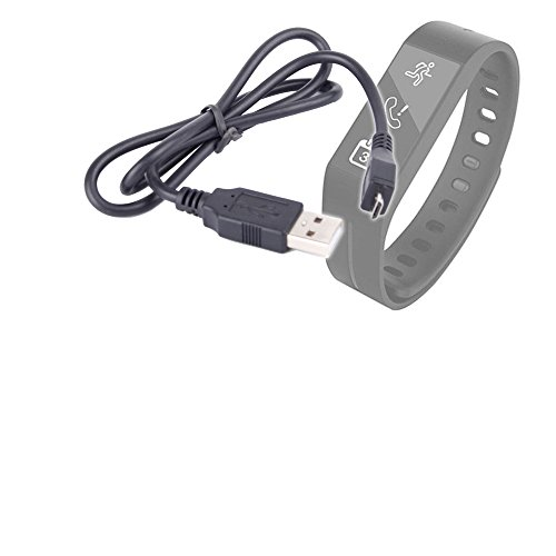 DURAGADGET Black Micro USB Replacement Charger Cable - Suitable for Striiv Band/Striiv Touch
