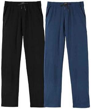 Conjunto De 2 Pantalones De Chandal De Algodon Para Hombres Pijamas Para Hombres Sudaderas Para Hombre T Amazon Es Deportes Y Aire Libre