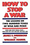 img - for How to Stop A War by James F. Dunnigan (1987-09-16) book / textbook / text book