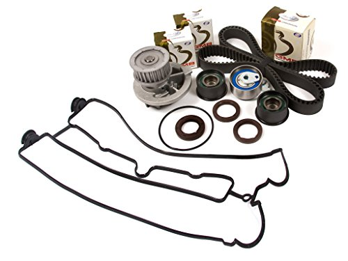 Evergreen TBK305VCT Daewoo Leganza Isuzu Rodeo Amigo 2.2L DOHC X22SE Timing Belt Kit Valve Cover Gasket Water Pump - Auto Repuestos