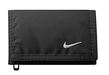 new product 9d645 8f8f4 Nike Unisex s Tri-Fold Wallet, Black, One Size