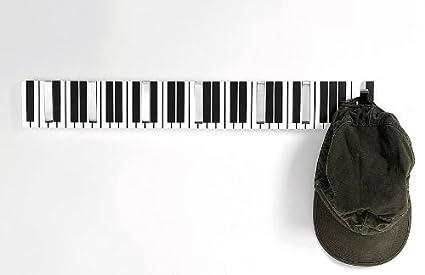 Portobellostreet - Perchero de Pared, Piano: Amazon.es: Hogar