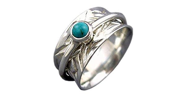 Spin-Pray Ring6us Meditation Ring JewelsExporter Sterling Silver Ring.Spinner Ring