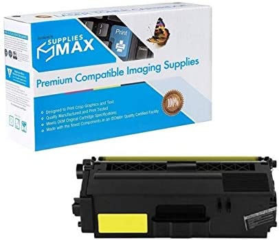 3500 Page Yield SuppliesMAX Compatible Replacement for CIG200913P Yellow Toner Cartridge Equivalent to Brother TN-336Y